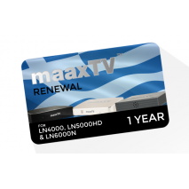maaxTV Greek 1 Year Subscription Renewal