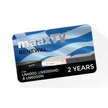 maaxTV Greek 2 Year Service Renewal