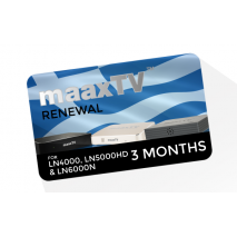maaxTV Greek 3 Months Service Renewal